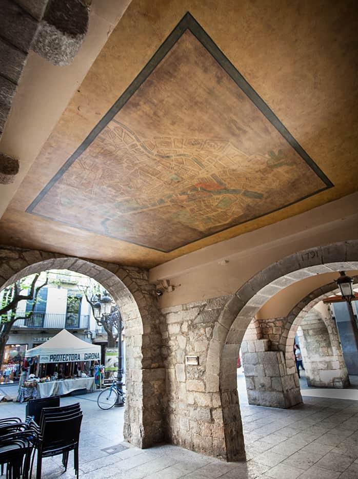 Girona Paris map