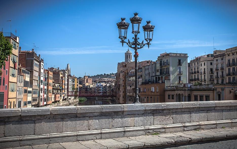 Girona stone bridge