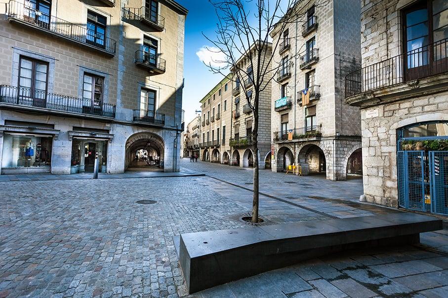 Girona vi square