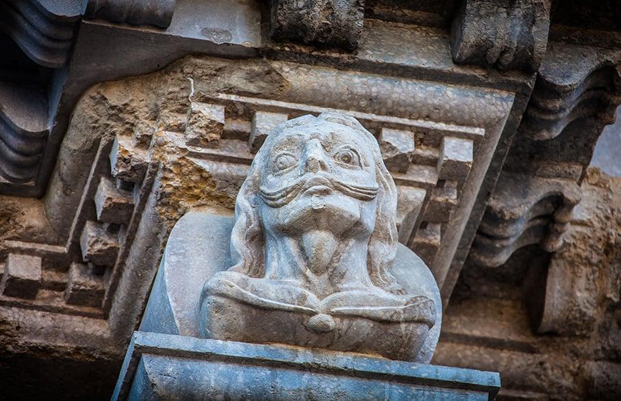 Girona cathedrale Dali